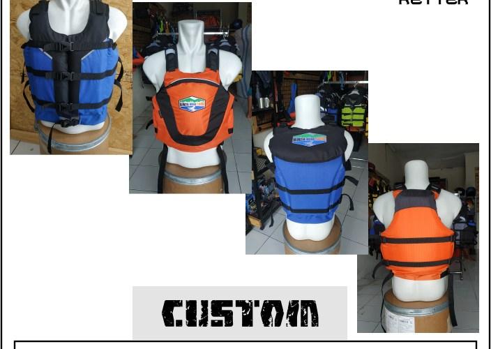 life jacket pelampung custom muncul river tubing