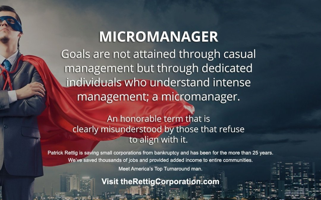 Micromanagement Is Being A Leader To Employees