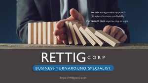 Rettig Corp helps business in crisis