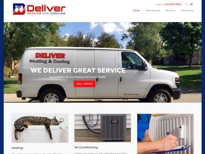 deliver heating and cooling