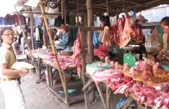 A local market - people's kitchen
