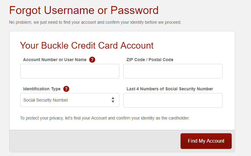 Credit cards can't be used to directly pay off another credit card. Understand The Buckle Credit Card Login And Activate As Well