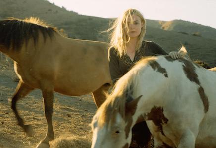 Elle Fanning Wild Horses Return to Freedom