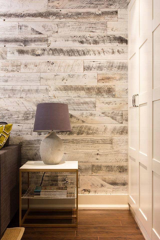 Easy Reclaimed Wood Look Stikwood  Lorri Dyner Design