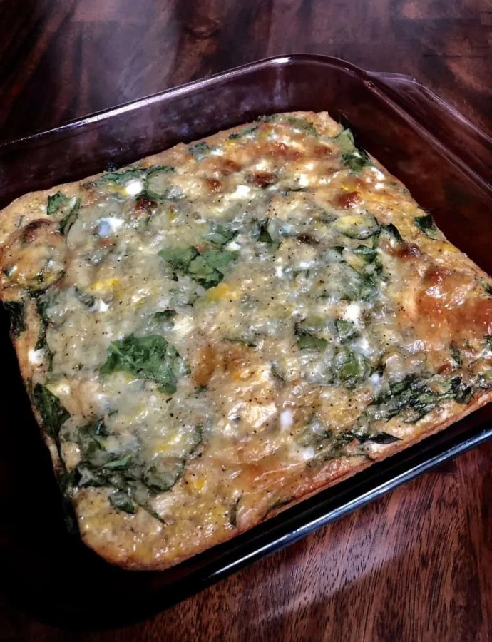 Breakfast Quinoa Egg Casserole