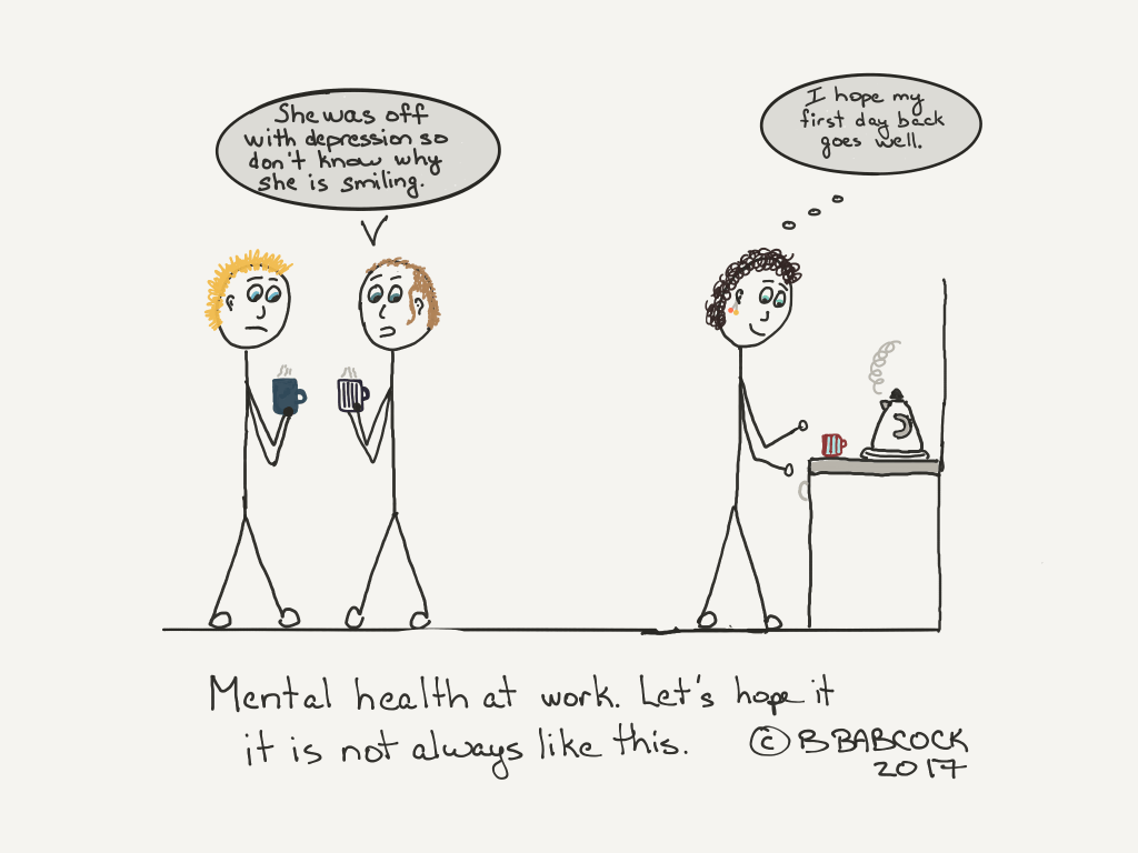 stigma of mental health at work