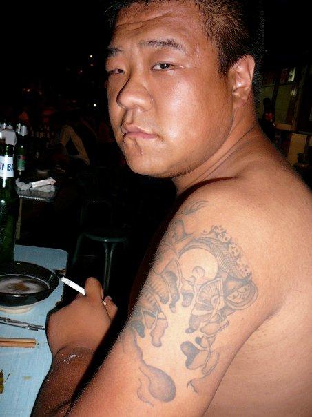 Chinese Triad Tattoos : chinese, triad, tattoos, Tattoos, China, Reuben, Silverman