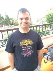 Reubs in T Shirt