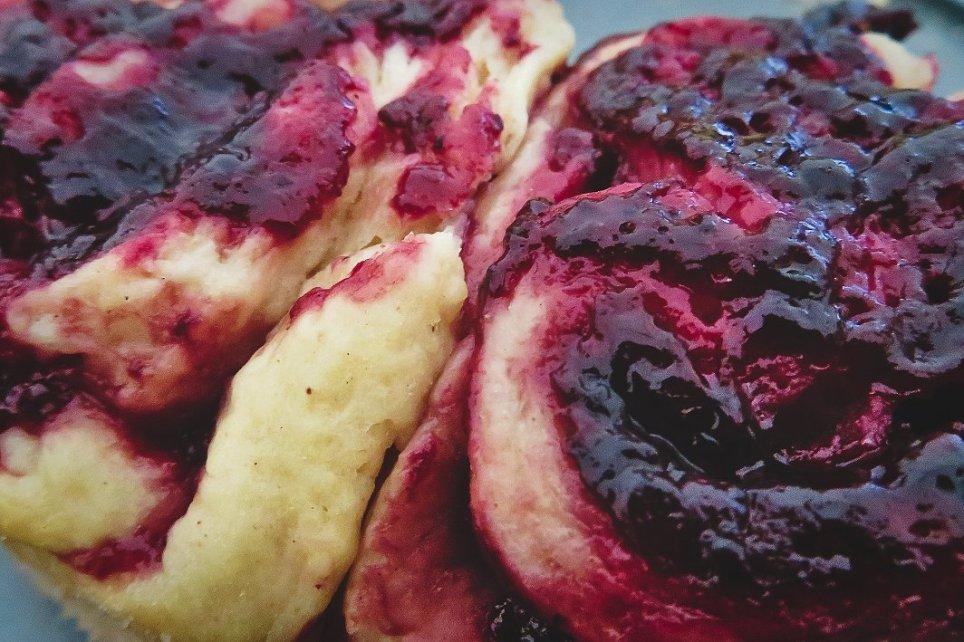 Brombeer-Cheesecake Brombeerlikör