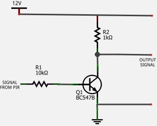 wanting circuit to connect car EFI to spark module