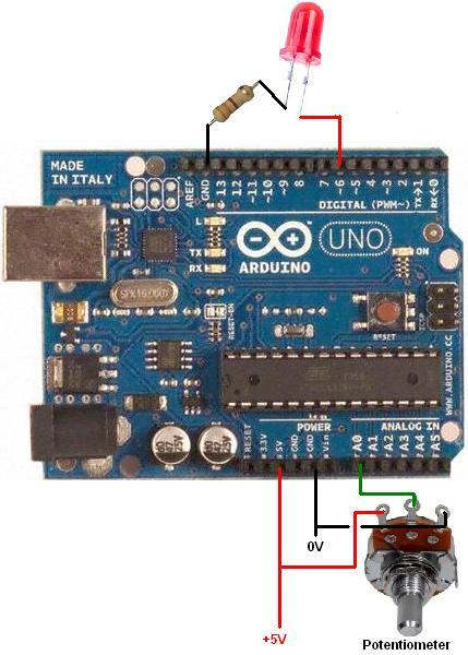 Arduino All Of The Circuits Below Can Brighten And Dim Via Pwm