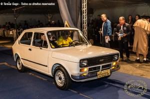Desfile do premiado Fiat 147 no IV Encontro Brasileiro de Autos Antigos