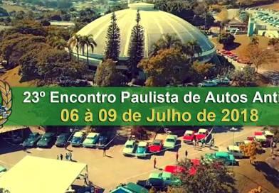 23º Encontro Paulista de Autos Antigos – Vinhedo