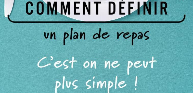 Definir un plan de repas Herbalife Ile Reunion nutrition