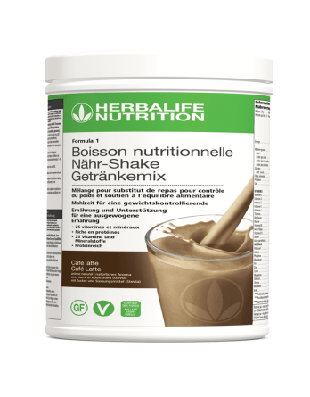 Formula 1 Café latte herbalife