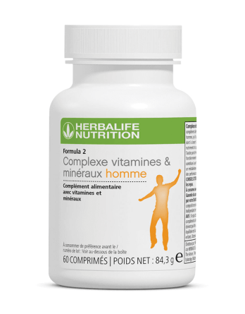 Complexe vitamines minéraux homme Formula 2 Herbalife