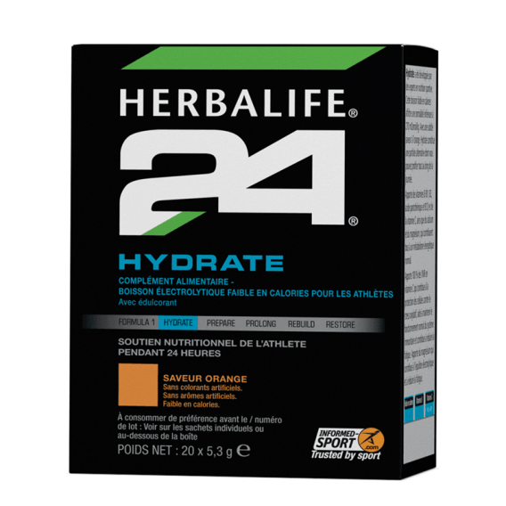 Herbalife 24 Hydrate Orange