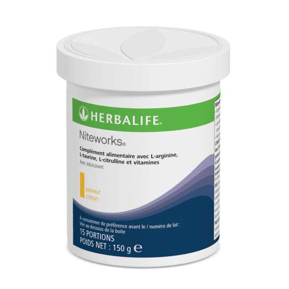 Niteworks citron oxyde nitrique Herbalife