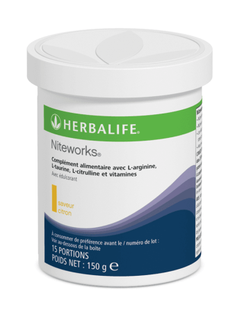 Niteworks citron oxyde nitrique Herbalife