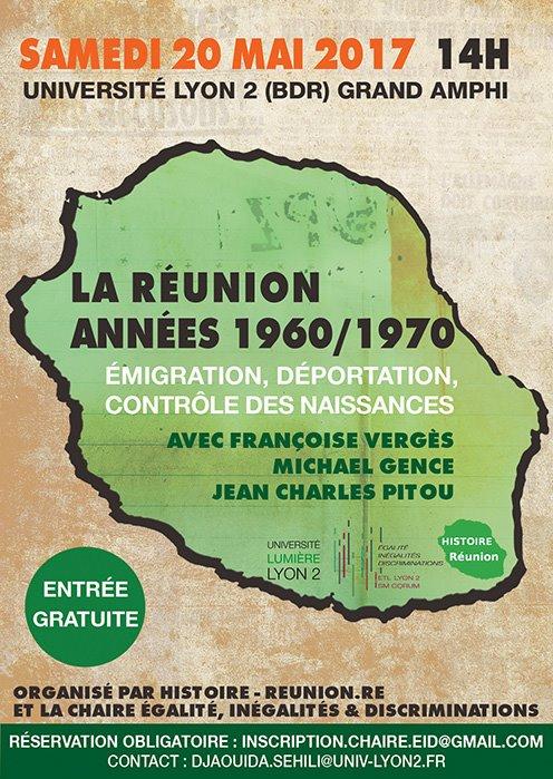 La Deportation Des Reunionnais De La Creuse : deportation, reunionnais, creuse, Réunion, Années, Conférence, Débat, L'Université, Réunionnais, Monde