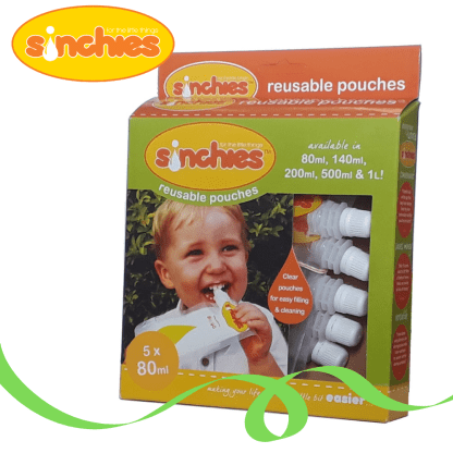 80ml reusable pouch sinchies