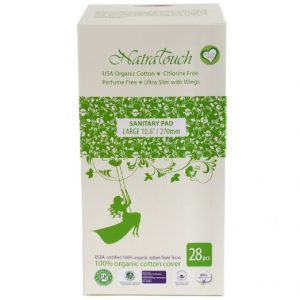 Natratouch Organic Cotton Sanitary Pads