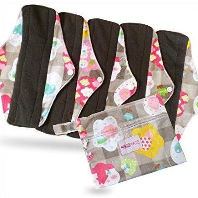 Period Mate Reusable Cloth Menstrual Pads Review