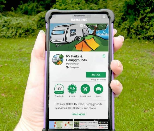 Camping Apps Are A Great Resource When You Are Out There In The Wilderness I