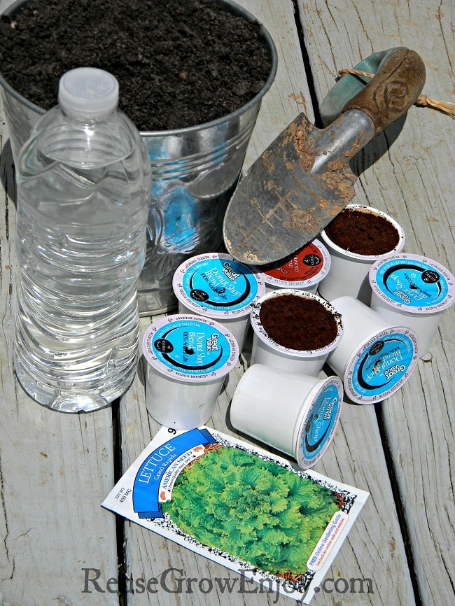 Kcup Uses DIY Plant Starters