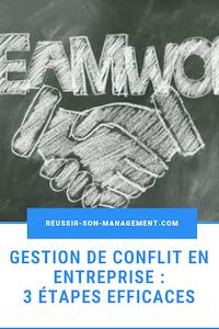 gestion de conflit en entreprise