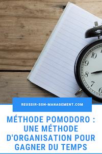 technique de productivité méthode pomodoro l'efficacité gagner du temps méthode d'organisation