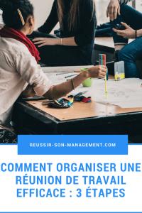 Comment organiser une réunion de travail ?