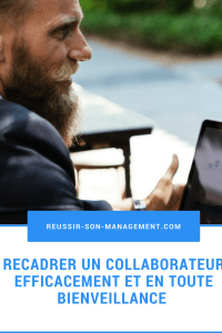 recadrer un collaborateur