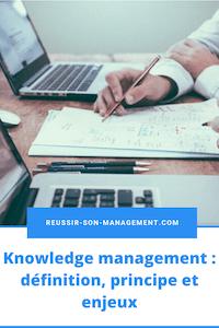 Knowledge management : définition, principe et enjeux