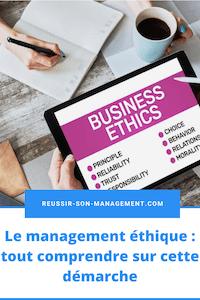 Le management éthique : tout comprendre sur cette démarche