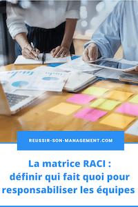 Matrice RACI: définir qui fait quoi pour responsabiliser les équipes