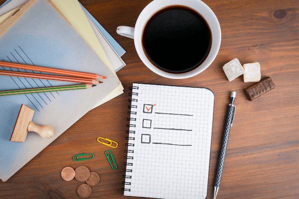 Checklist: pour ne rien oublier et atteindre ses objectifs