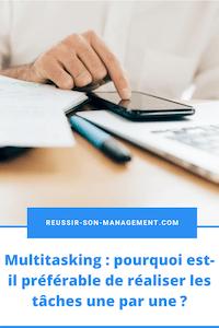 Multitasking: pourquoi est-il préférable de réaliser les tâches une par une?