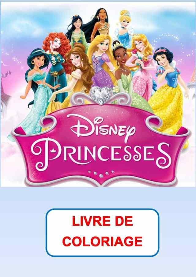 Coloriage Princesse Gratuit  30 dessins à imprimer en 30 clic