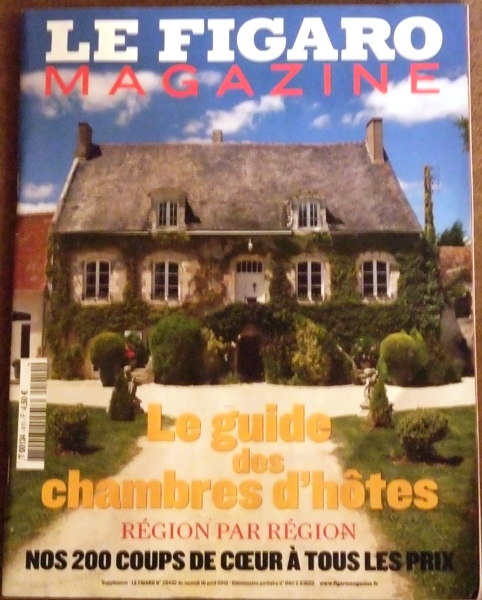 Guide des chambres dhotes Le figaro magazine
