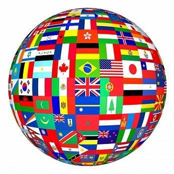 Drapeaux internationaux étrangers Guest & Strategy