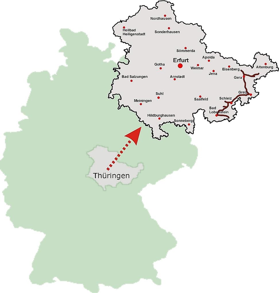 Lage der ♔ Reußische Fürstenstraße