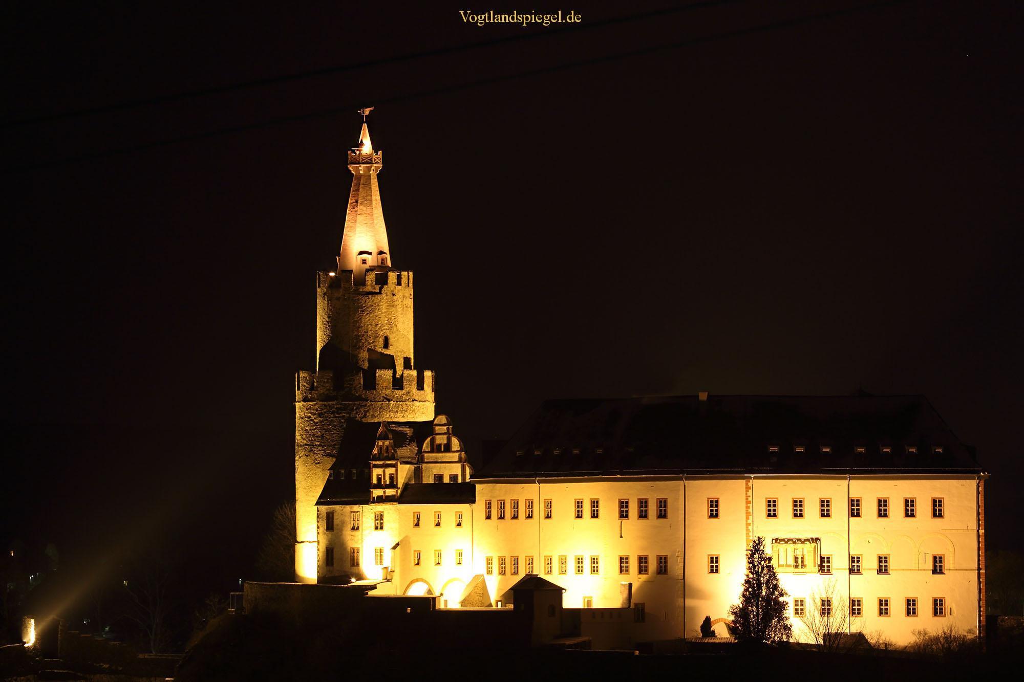 Die Osterburg - Stammburg der Vögte zu Weida