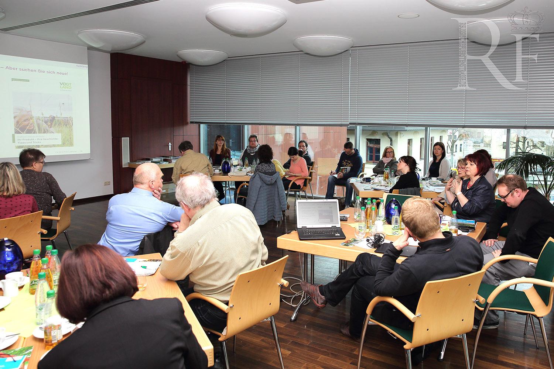 Produktlinientreffen beim Tourismusverband Vogtland
