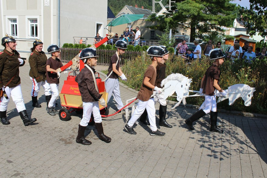 750 Jahre Berga/Elster mit großem Festumzug gefeiert