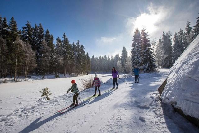 Winterurlaub in Familie