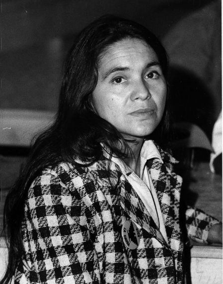 Walter P. Reuther Library (193) Portrait, Dolores Huerta, circa 1975