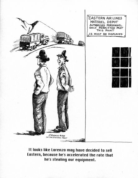Walter P. Reuther Library (31515) EAL Strike Cartoon, 1989