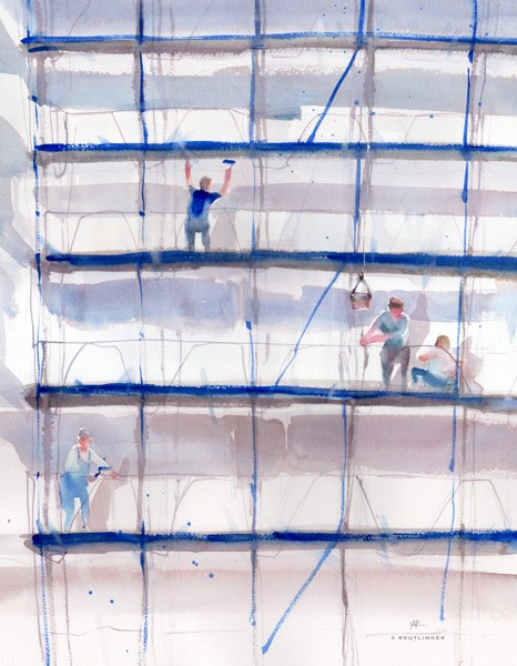 Peintres en bâtiments