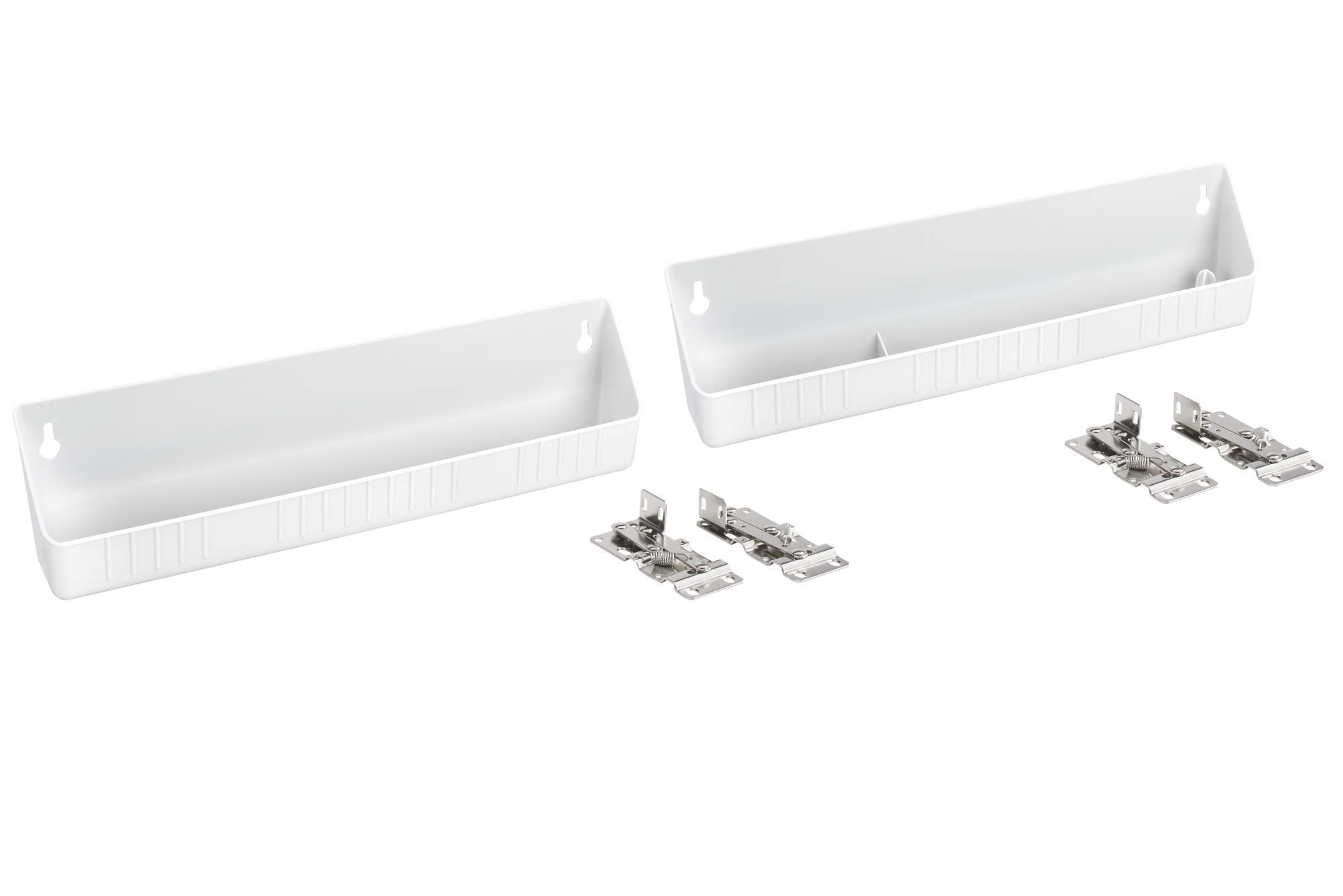 molded sink front tip out trays